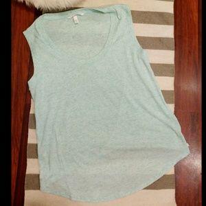LIKE NEW Victoria's Secret Muscle Shirt Mint Blue